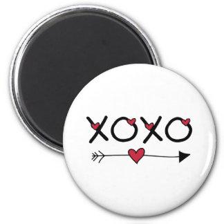 XOXO Valentines Magnet