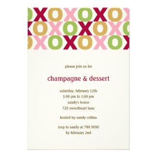 XOXO Valentine's Party Invitation