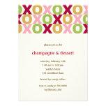 XOXO Valentine's Party Invitation Custom Invite