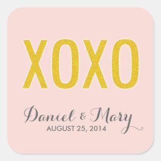 XOXO | Wedding Stickers