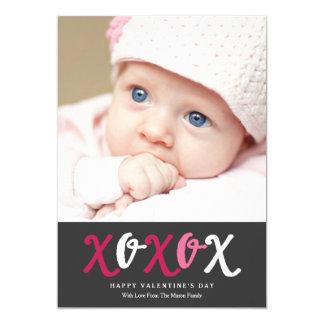 XOXOX   Charcoal Card