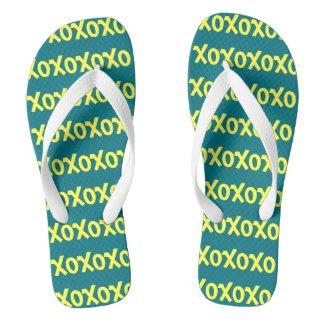 XOXOX FLIP FLOPS