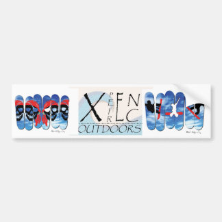 XpeirEnc Outdoors Snowboarding Sticker Bumper Sticker