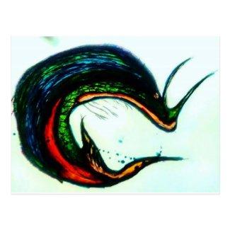 Xqzra Astrobiological Symbiotic Rebreather Postcard