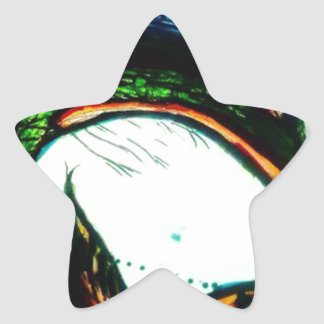 Xqzra Astrobiological Symbiotic Rebreather Star Sticker