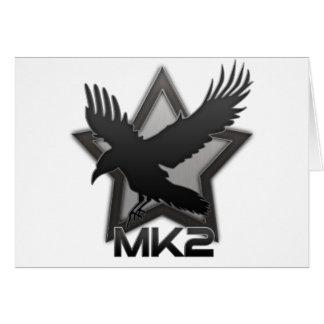 XR2 MK2 Ravenstar Greeting Card
