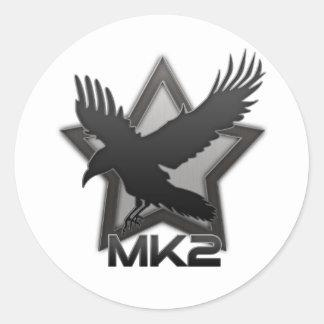 XR2 MK2 Ravenstar Round Sticker