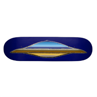 XR71 Golden MonGoose Racer No.6 Chromos Skateboard Deck