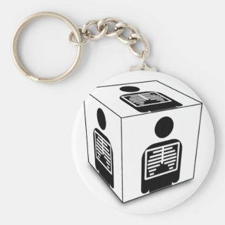 XRAY CUBE BOX RADIOLOGY DIAGNOSTIC IMAGING KEY CHAIN