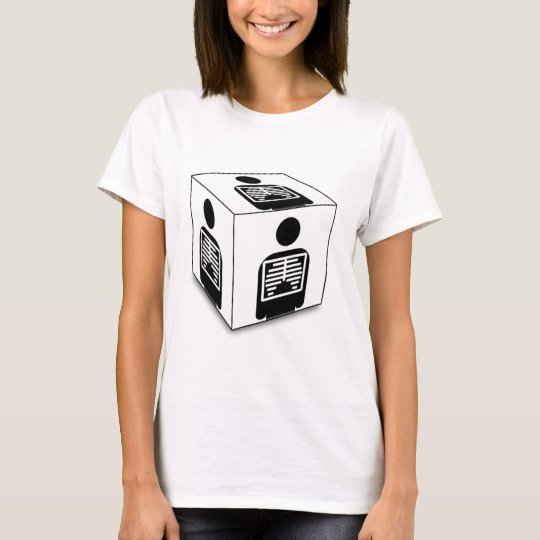 XRAY CUBE BOX RADIOLOGY DIAGNOSTIC IMAGING T-Shirt