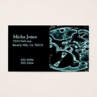 Xray Flash Mechanical Gearing Business Card