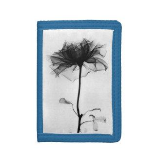 xray flower tri-fold wallet