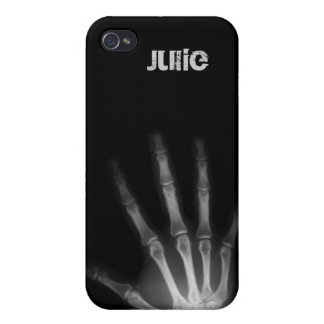 xray hand unique 4 casing iPhone 4/4S cover