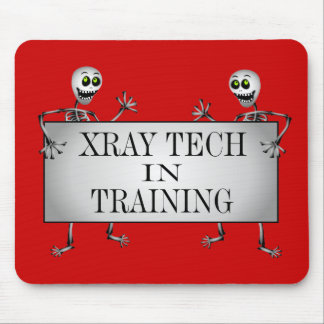 Xray In Training Mouse Pads