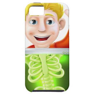 Xray Man Waving iPhone 5 Case