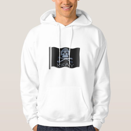 XRAY PIRATE Flag RADIOLOGY JOLLY ROGER Hoodie