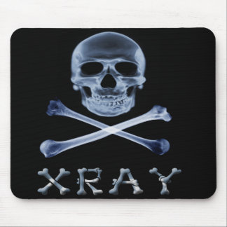 XRAY PIRATE Flag RADIOLOGY JOLLY ROGER Mouse Pad