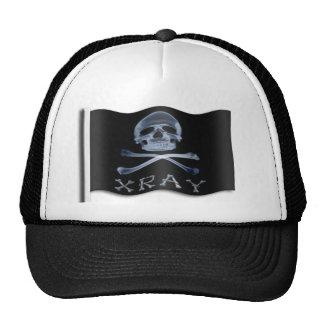 XRAY PIRATE Flag RADIOLOGY JOLLY ROGER Trucker Hat