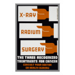 Xray  Radium Surgery Poster
