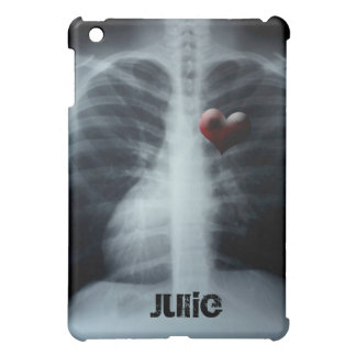 xray ribs with a heart unique casing iPad mini cases
