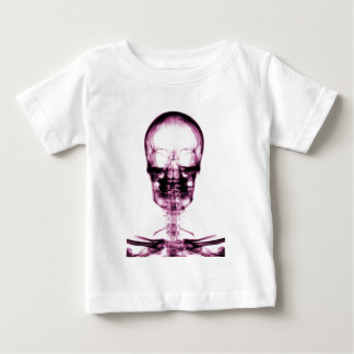 XRAY SKELETON SKULL PINK BABY T-Shirt