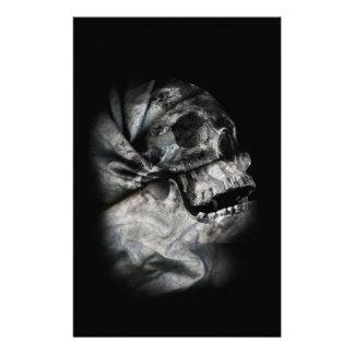 XRay Skull Head Scan Skeleton Stationery
