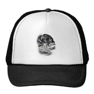 XRay Skull Head Scan Skeleton Trucker Hat
