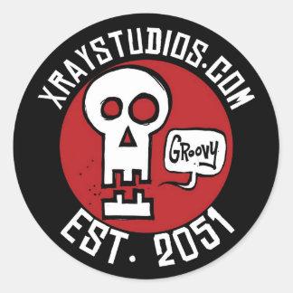 Xray Studios Est 2051 Sticker
