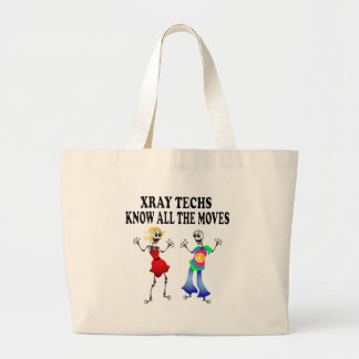 XRAY TECHS  KNOW ALL THE MOVES TOTE BAG