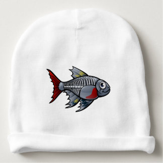 XRay Tetra Fish Cartoon Character Baby Beanie