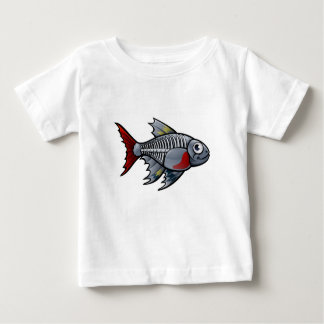 XRay Tetra Fish Cartoon Character Baby T-Shirt