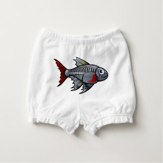 XRay Tetra Fish Cartoon Character Diaper Cover