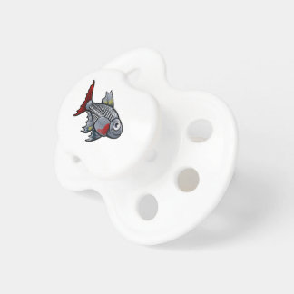 XRay Tetra Fish Cartoon Character Pacifier
