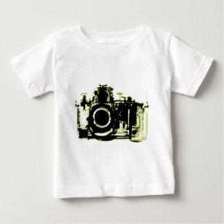 XRAY VISION CAMERA BLACK YELLOW BABY T-Shirt