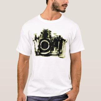 XRAY VISION CAMERA BLACK YELLOW T-Shirt