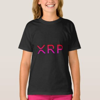 xrp, logo, girls T-Shirt