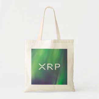 XRP Ripple bag green blue
