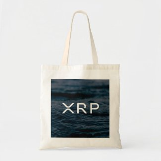 XRP Ripple bag waves water