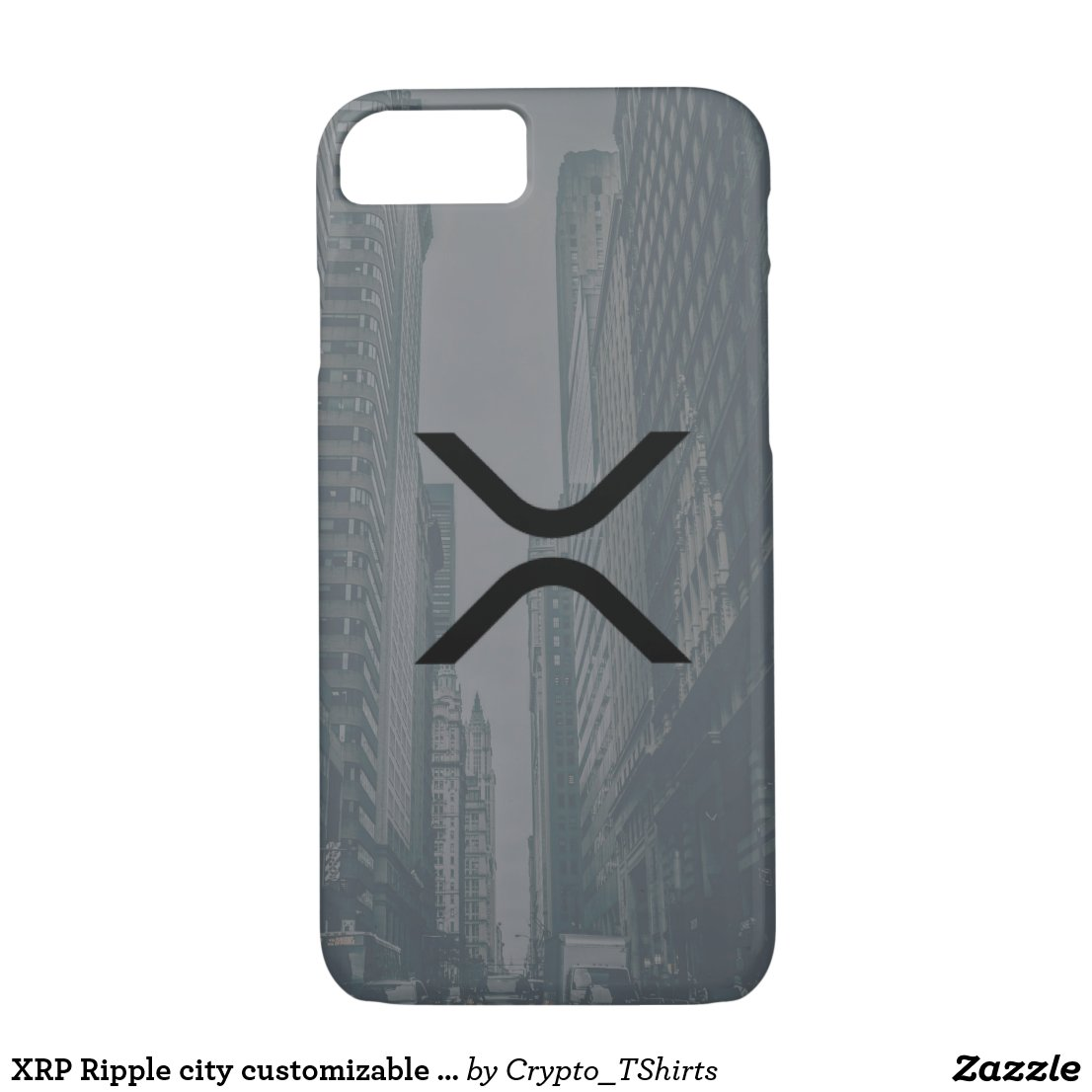 XRP Ripple city customizable phone case