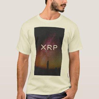 xrp, ripple, elegant sky logo tshirt