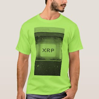 XRP, Ripple lime art tshirt