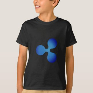 XRP, Ripple logo, boys T-Shirt