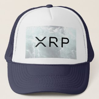 xrp, Ripple navy hat cap
