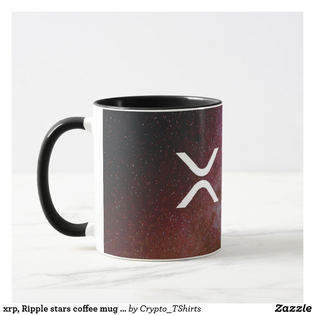 xrp, Ripple stars coffee mug / cup