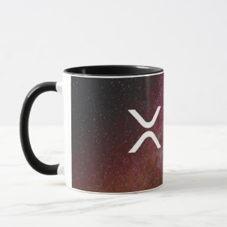 xrp, Ripple stars coffee mug / cup