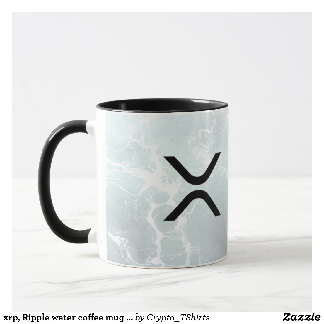 xrp, Ripple water coffee mug / cup