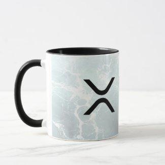 xrp, Ripple water coffee mug / cup