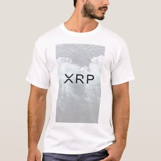 xrp, ripple, white water tshirt