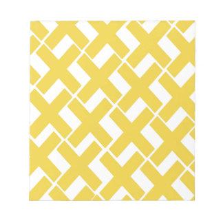 Xs amarillo y blanco bloc