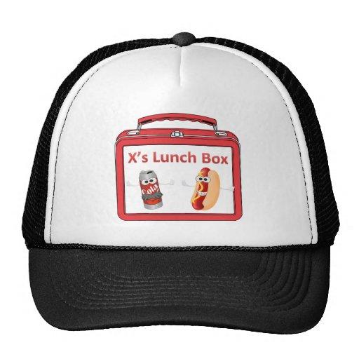 X's lunch trucker hat